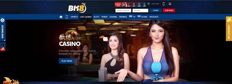 เชื่อมั่นใน BK8 Casino ที่กวาดรางวัลคาสิโนออนไลน์ที่ดีที่สุดมาหลายสมัย